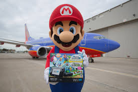 Southwest Flight Deals by Nintendo U0027s Partnership With Southwest Airlines Takes Off As Mario