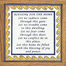 blessing for the home house blessing tile blessing for the home house