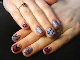 nail art with gel polish nail arts