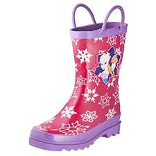 amazon s boots size 12 amazon com disney frozen and elsa pink boots