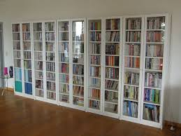 Bookshelves Glass Doors by Enchanting White Bookshelf With Doors And Bookcase Glass Door
