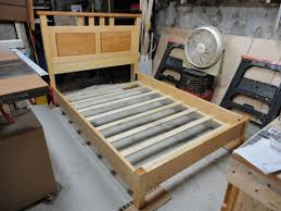 Bed Frame Joints Bed Frame Construction By Chris P Lumberjocks
