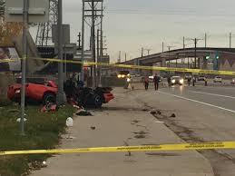 corvette crash sb santa fe reopens after crash investigation into corvette that
