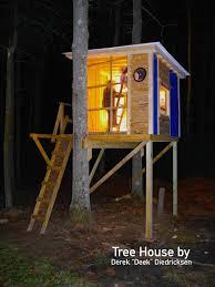 Tree House Home by Relaxshacks Com September 2016