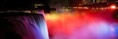 christmas lights in niagara falls ontario niagara falls light show niagara falls state park