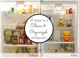 10 steps to a clean and organized fridge classy clutter