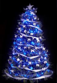 Christmas Tree With Blue Decorations - pink and purple christmas tree baubles decorations ideas red white