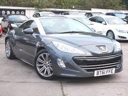 peugeot onyx top gear used peugeot rcz cars for sale motors co uk