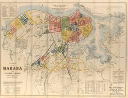 Plano Map Plano De La Habana Por D Esteban T Pichardo Agrimensor Y Maestro