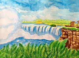 paint places niagara falls suzanne berton