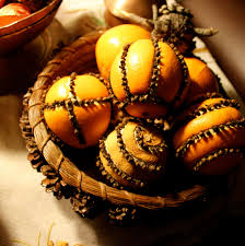 christmas senses the smell of oranges and cloves love those