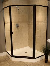 Angled Shower Doors Swing Shower Doors With Neo Angle Panels
