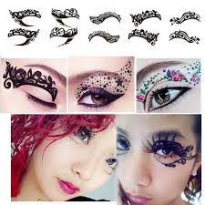 temporary eyeshadow lace sticker eyeshadow liner eyelid