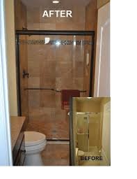 Before And After Small Bathrooms Small Bathroom Remodel Before And After Photo 3 Design Your Home