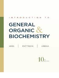 hein introduction to general organic u0026 biochemistry 10th txtbk