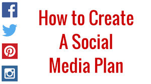 Social Media Plan How To Create A Social Media Plan Png