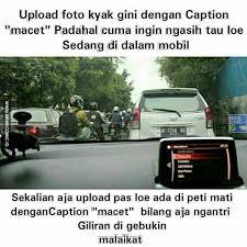 Meme Mobil - pamer yang terselubung kiriman darvin meme comic indonesia