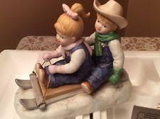 Home Interior Denim Days Figurines by Home Interior Figurines Ebay