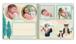 birthday photo album baby photo books and albums baby memory book mixbook