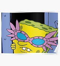 Spongebob Fish Meme - spongebob posters redbubble