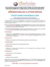 cambridge business letter samples fax test assessment