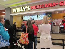 terminal b food court willy u0027s mexicana grill