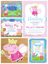 peppa pig birthday ideas peppa pig birthday invitations alanarasbach