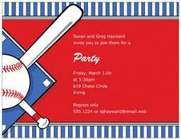 baseball ticket invitations vistaprint