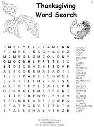 printable lg thanksgiving word search happy thanksgiving
