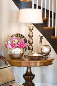 home entrance decor furniture cool white table lamp design ideas with wooden foyer