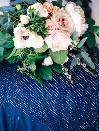 personalized navy blue winter wedding at powel crosley estate in