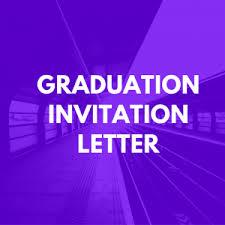 graduation invitation letter sle invitation letter