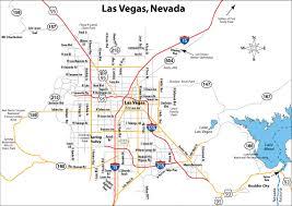 Local Map Detailed Road Map Of Las Vegas Las Vegas City Detailed Road Map