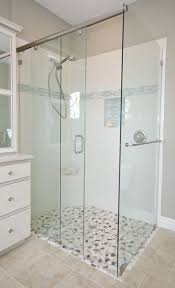 Pictures Of Glass Shower Doors Custom Shower Doors And Enclosures From Bell Mirror Glass