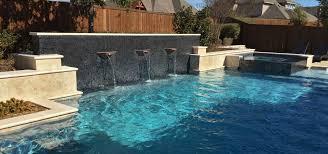 dallas custom pools frisco pool builder in dallas