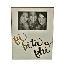 sorority picture frame sorority picture frame gold script