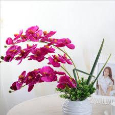 aliexpress com buy fashion orchid artificial flowers diy