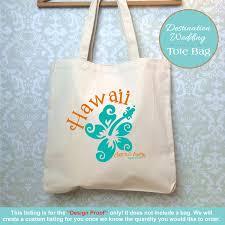 Wedding Gift Destination Wedding Hawaii Destination Wedding Bag Design Proof Only Hawaii