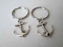 Items Similar To Love Anchors - 2 anchor love relationship keychains on etsy 10 00 love