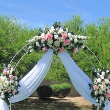 wedding arbor ebay ebay wedding decorations awesome polyester banquet table skirt 3