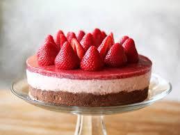 Cheesecake Decoration Fruit No Bake Strawberry Cheesecake U2013 Zoe Bakes