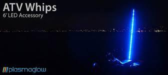 led light whip for atv atv led whips plasmaglow