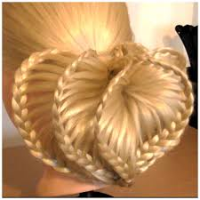 wedding hairstyle 3d loveheart upstyle tutorial