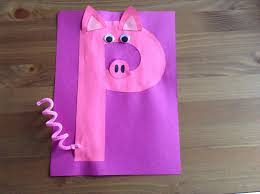 p is for pig make a letter for each animal in churchill