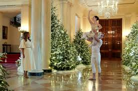 pictures of christmas decorations in homes melania trump unveils white house christmas decorations time