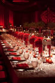 Wedding Centerpieces Floating Candles And Flowers by Red Flower Floating Candle Wedding Reception Centerpiece Red