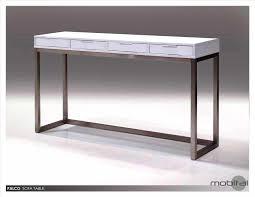 bureau pas cher noir console modulable ikea finest console table ikea canada