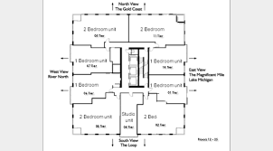 Northpark Residences Floor Plan by 2 E Erie Floor Plans