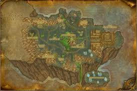 map quests shadowmoon valley map with locations npcs and quests of