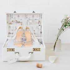 wedding keepsake box personalised wedding memory suitcase keepsake box by meminio